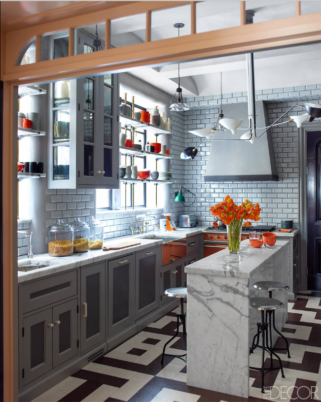Gambrel NYC kitchen